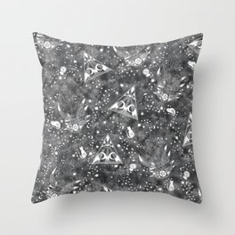 Gypsy Fortuneteller Throw Pillow