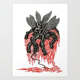 Sick Fly Art Print