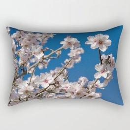 Almond blossom (the Algarve, Portugal) Rectangular Pillow