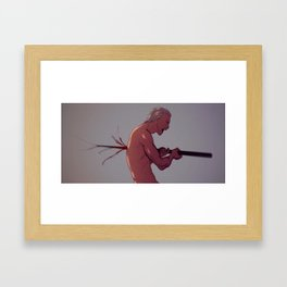 Hidan Framed Art Print
