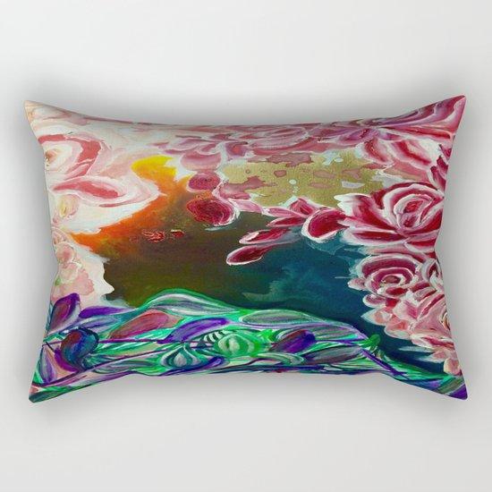 Ode To Creation Rectangular Pillow
