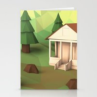 cabin pressure Stationery Cards featuring Cabin by CharismArt