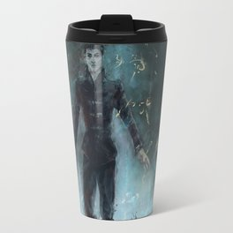 """The Outsider"" Dishonored Travel Mug"