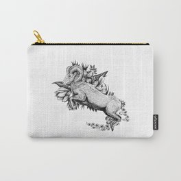 Goat  - Go Vegan Carry-All Pouch