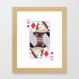 Ariadne Queen of Dreams and Diamonds Framed Art Print