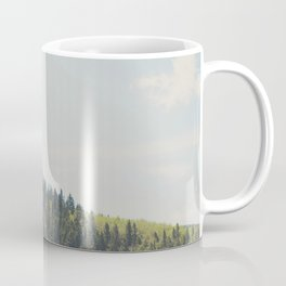 above the tree line of the Santa Fe National Forest Coffee Mug
