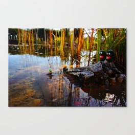 gwerg with friends 1 Canvas Print