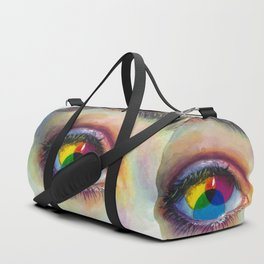 Eye of an artist Duffle Bag