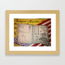 Veterans Day Framed Art Print