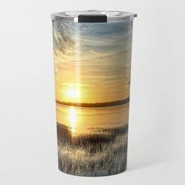 Clear Lake Sunrise Travel Mug