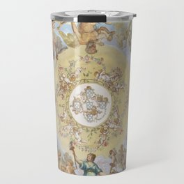 ceiling art of portuguese royal palace Travel Mug