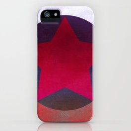 Star Composition X iPhone Case