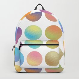 Pop Art Golf Balls Backpack