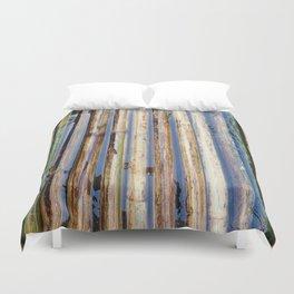 Bamboo Raft Duvet Cover
