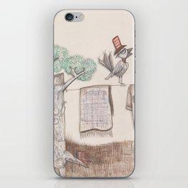 A bird iPhone Skin