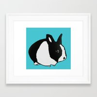 floyd Framed Art Prints featuring Floyd by Tooter