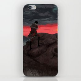 Kyror sunset iPhone Skin