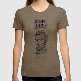 Damn, Lincoln T-shirt