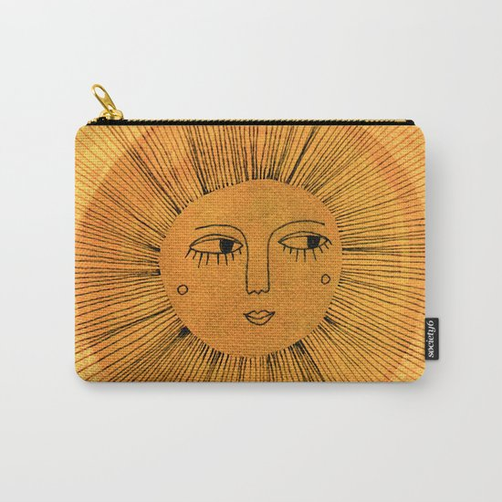 Sun Drawing Gold and Blue by sewzinski