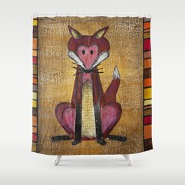 Fox Den Shower Curtain