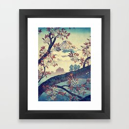 Suidi the Heights Framed Art Print