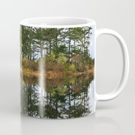 Coastal Lake Reflection Coffee Mug