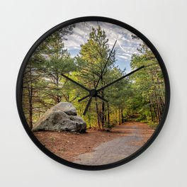 Heart of the woods Wall Clock