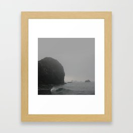 Ominous Tides Framed Art Print