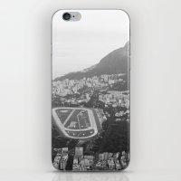 rio de janeiro iPhone & iPod Skins featuring Rio de Janeiro, Brasil by Angelika Albaladejo
