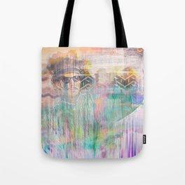 Psychedelic 80's Dood Tote Bag
