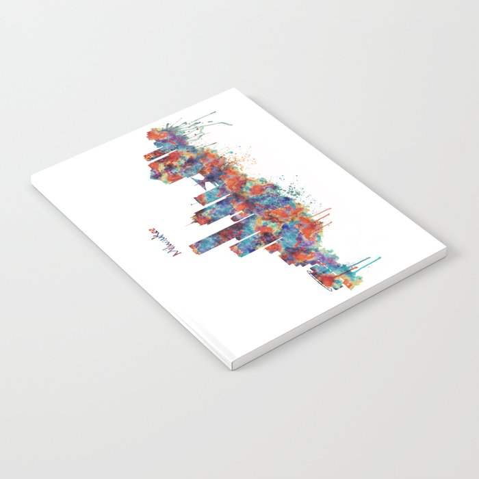 Milwaukee Skyline Notebook