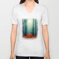 Landscape (colour option) Unisex V-Neck