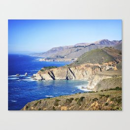 Bixby Creek Bridge in Big Sur Canvas Print