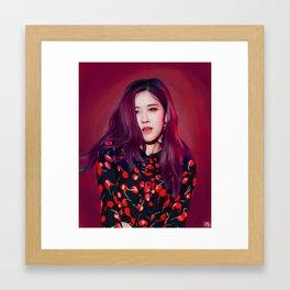 ambition | rose Framed Art Print