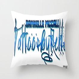 TattoosByRelle(Logo) Throw Pillow