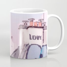 Paris with its Eiffel Tower and Magnolias - Vintage Romantic Coffee Mug
