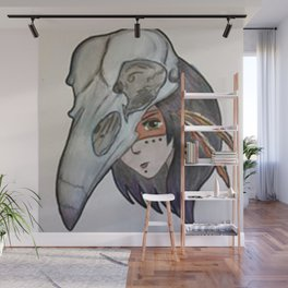 crow spirit animal Wall Mural