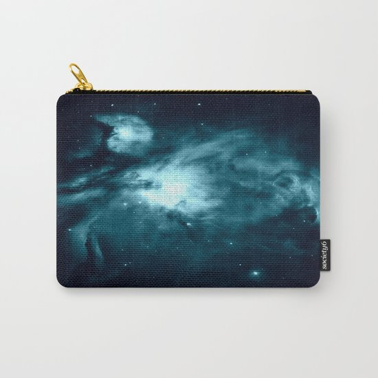 Orion nebula : Teal Galaxy Space Carry-All Pouch