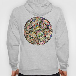 Sugar Skull Collage Hoody