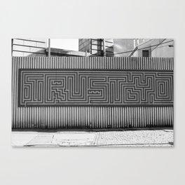 Trusty Brooklyn Canvas Print