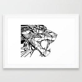 Smilodon Framed Art Print