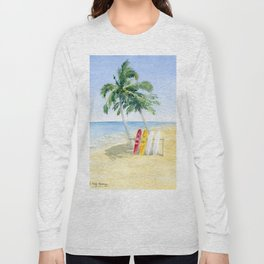 Tropical View Long Sleeve T-shirt