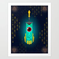 transistor Art Prints featuring Transistor by CyberneticGhost
