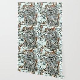 NewArt Animal Gorilla Wallpaper