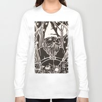 gnome Long Sleeve T-shirts featuring Gnome by Aubree Eisenwinter