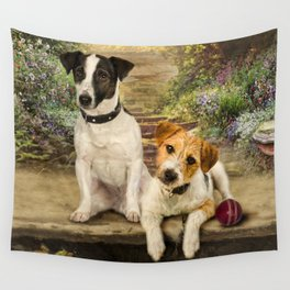 Scruffy and Slim Wall Tapestry