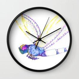 Summer Flight Wall Clock