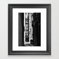 Glasgow architecture Framed Art Print