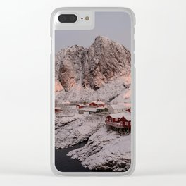 Sunrise Over Hamnøy, Norway Clear iPhone Case