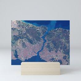 Istanbul & Bosporus Mini Art Print
